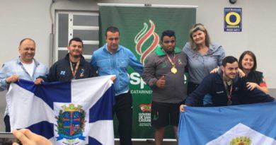 Chapecó conquista as primeiras medalhas