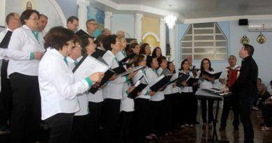 IX Encontro de Corais foi realizado no final de semana em Xaxim