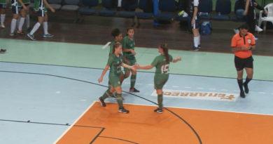 Futsal feminino tem vitórias importantes neste final de semana