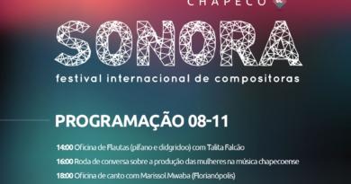 Sonora Festival Internacional de Compositores  oferece oficinas gratuitas