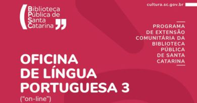Biblioteca Pública de Santa Catarina abre inscrições para Oficina de Língua Portuguesa